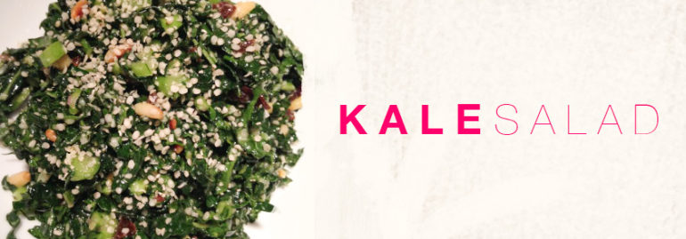 The Kale Salad that Converts!