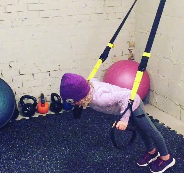 Start them young!   It's nice that even though my little one's dad and I are not together, we still share a healthy lifestyle that we role model with our daughter.   Whethe…